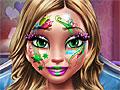 Зимний макияж и фейс-арт