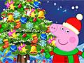 Свинка Пеппа украшает новогоднюю елку