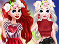 Принцессы Диснея: Эльза и Ариэль в День Валентина
