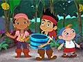 Джейк и пираты Нетландии в мире бананов