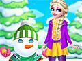 Холодное сердце: Эльза и снеговик