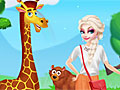 Холодное сердце: Эльза в зоопарке