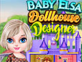 Холодное сердце: Дизайн кукольного домика Эльзы