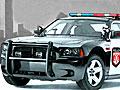 Парковка полицейской машины