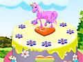Украшение торта-пони