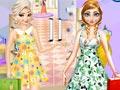Весенние покупки Эльзы и Анны