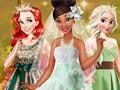 Свадьба принцессы Тианы в зеленом цвете