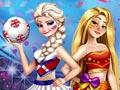 Принцессы на чемпионате мира по футболу 2018
