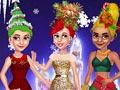 Новогодние прически елки