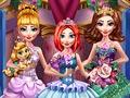 Принцессы одеваются