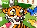 Раскраска животных из джунглей