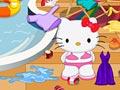 Хелло Китти: Уборка бассейна