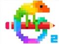 Раскраска пикселей 2