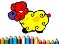 Раскраски овечек