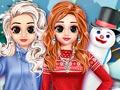 Зимний стиль принцесс