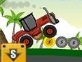 Трактор на холмах