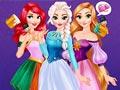 Принцессы Диснея: Радужные платья