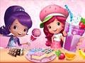 Шарлотта Земляничка готовит сладости