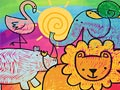 Маленькие животные раскраска