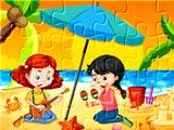 Пляжный пазл